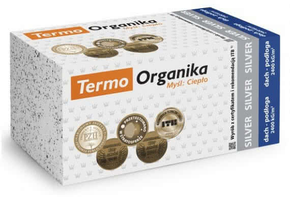 Termo Organika Silver Dach Podloga Eps 80 037 Hurtownia Styropianu