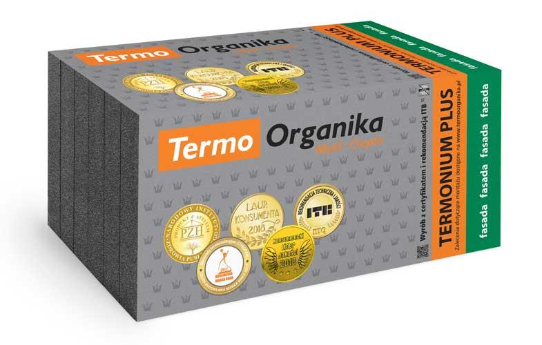 Termo Organika Termonium Plus Fasada Styropian Grafitowy Hurtownia