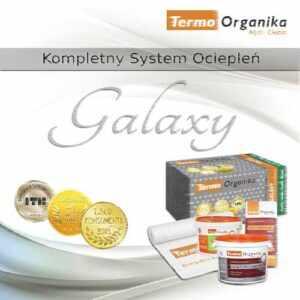 system ociepleń termo organika GALAXY