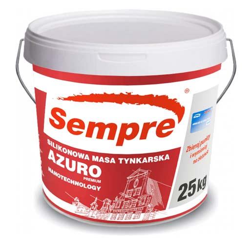 Sempre Azuro Tynk Silikonowy Premium Nano Hurtownia Styropianu